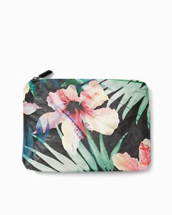 Hibiscus Palm Small Pouch