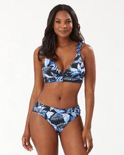 Indigo Garden Reversible Bikini Top