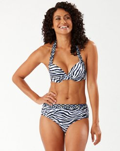 Zanzibar Zebra Underwire Bikini Top