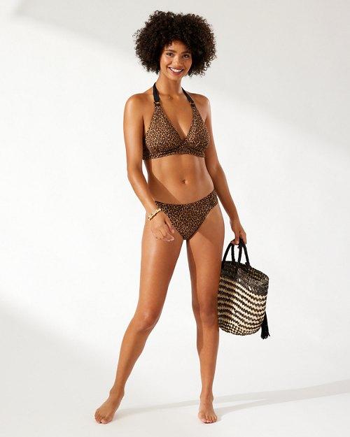 Sun Cat Reversible Halter Bikini Top