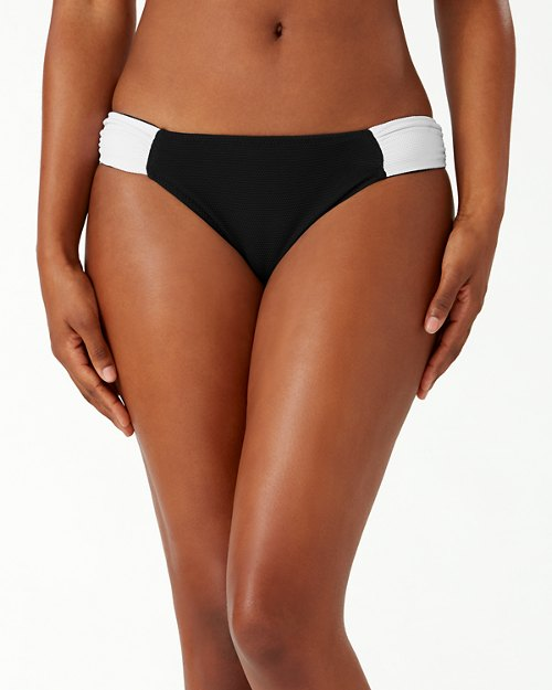Island Cays Colorblock Reversible Hipster Bikini Bottoms