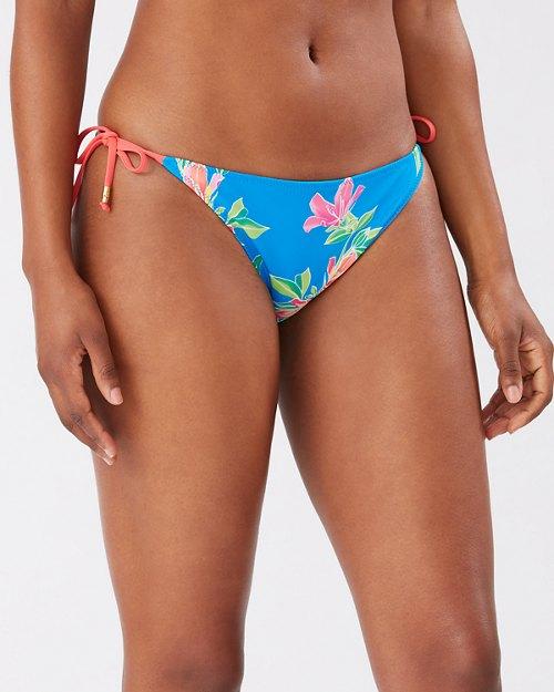 Sun Lilies Reversible String Bikini Bottoms