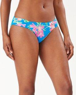 Sun Lilies Reversible Hipster Bikini Bottoms