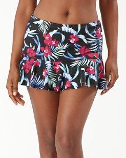 Midnight Orchid Flutter Skirt