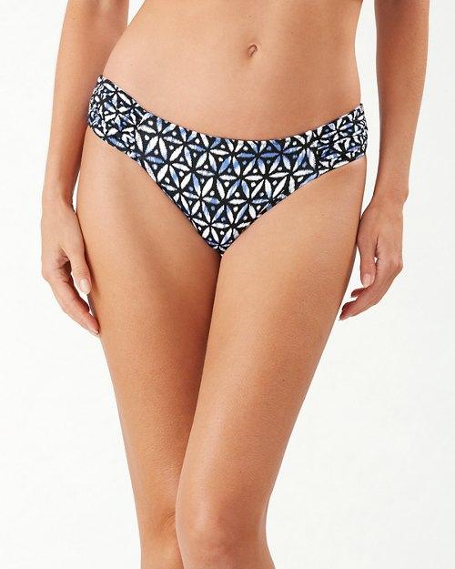 Zanzibar Zebra Reversible Hipster Bikini Bottoms