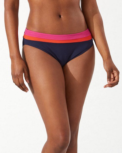 Island Cays Colorblock Hipster Bikini Bottoms