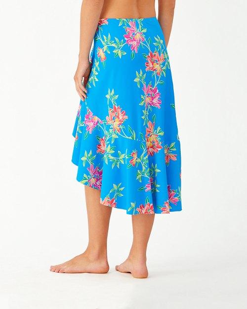 Sun Lilies Flounce Skirt
