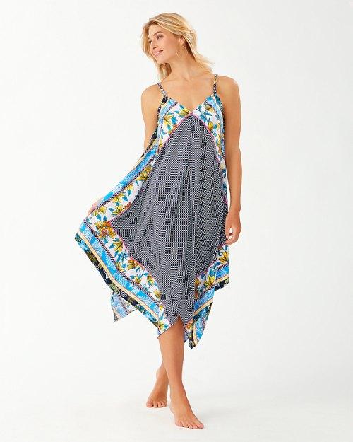 Sun Lilies Engineered Scarf Dress