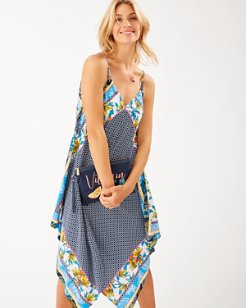 Sun Lilies Engineered Scarf Dress