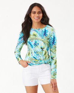 Sun-Kissed Tropics Long-Sleeve Rash Guard