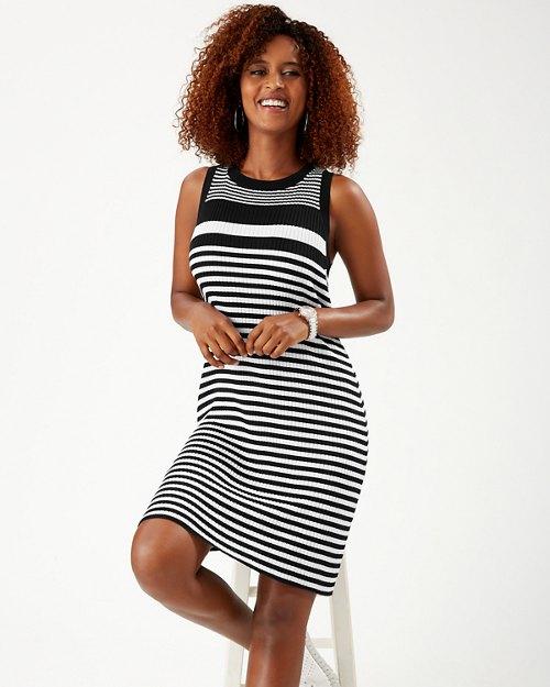 Breaker Bay Stripe Sweater Dress