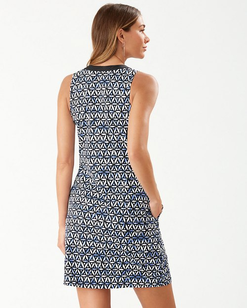 Zanzibar Zebra Lace-Up Dress