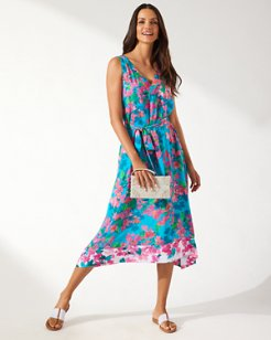Bougainvillea Convertible Scarf Dress