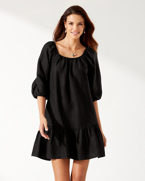 St. Lucia Off-The-Shoulder Tiered Dress