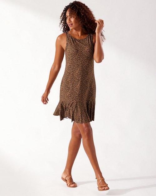 Sun Cat High-Neck Spa Dress