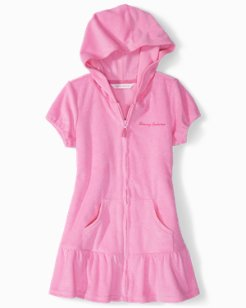 Toddler Hooded Coverup Dress