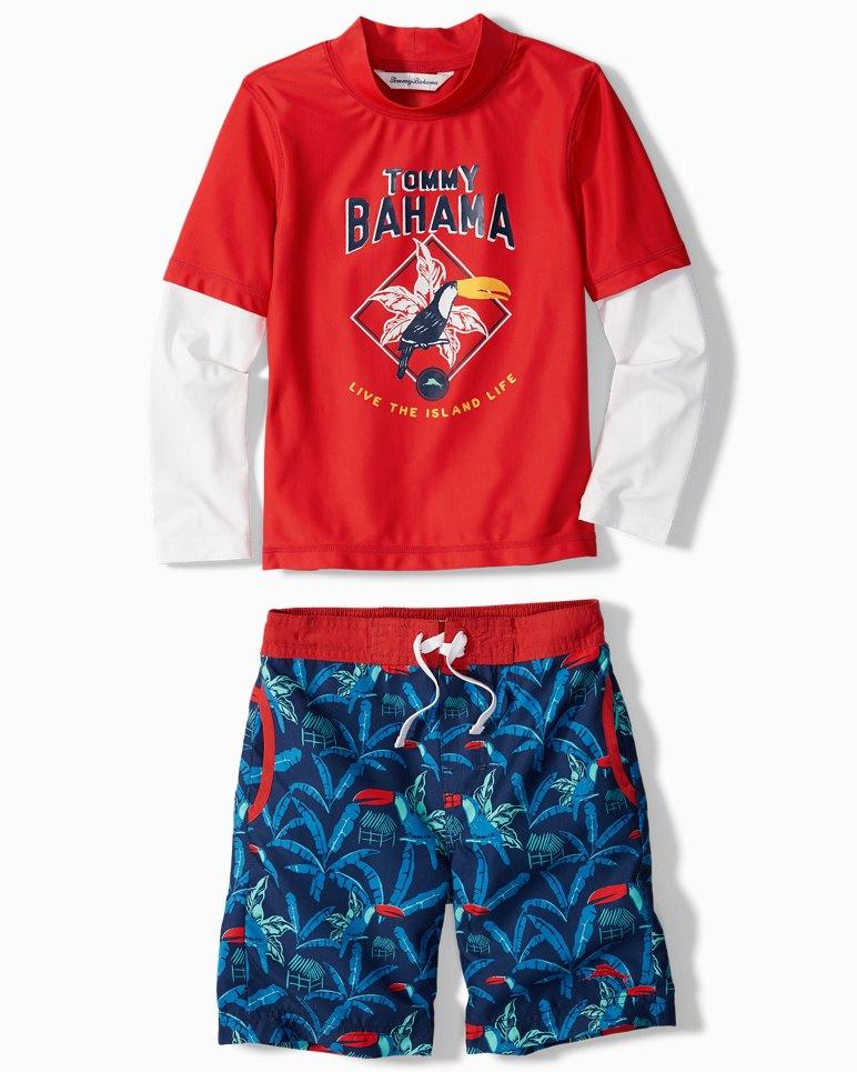 Main Image for Toddler Toucan Retreat Rash Guard Set