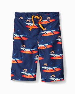 Big Boys' Shaka Shark Trunks