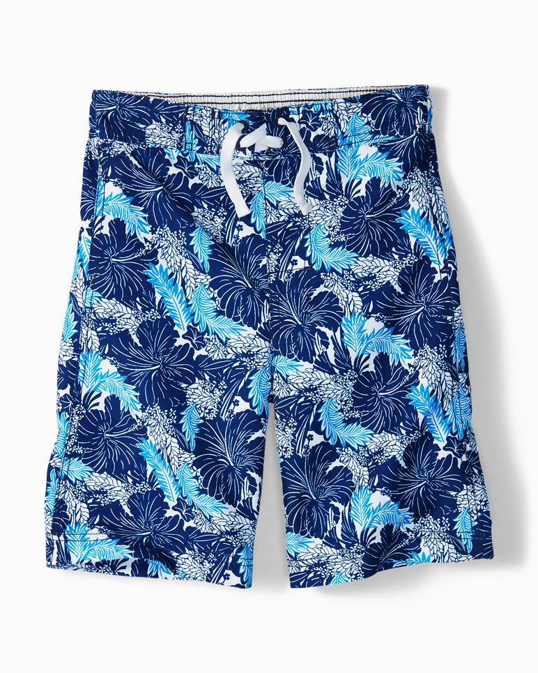 Main Image for Big Boys' Tropicollage Swim Trunks
