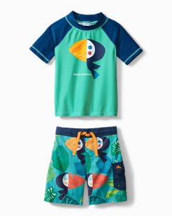 Toddler Tropical Toucan Swim Set