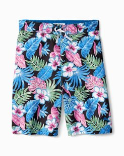 Big Boys' Konkan Jungle Swim Trunks
