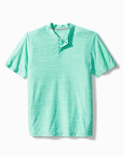 Palm Coast IslandZone® Henley Shirt
