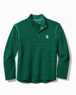 Collegiate Tidal Stripe IslandZone® Half-Zip Sweatshirt