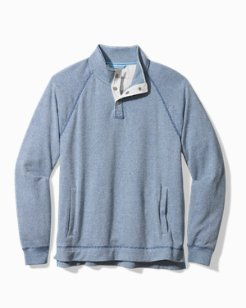Cedar Springs Snap-Mock Sweatshirt