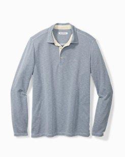 Palmetto Paradise Long-Sleeve Polo