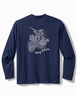Reelin' In The Deep Long-Sleeve Lux T-Shirt