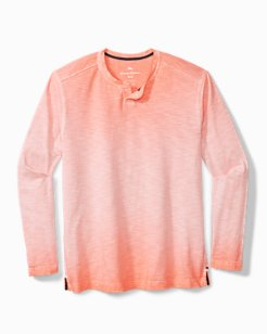 Suncoast Shores Abaco Long-Sleeve Henley Shirt