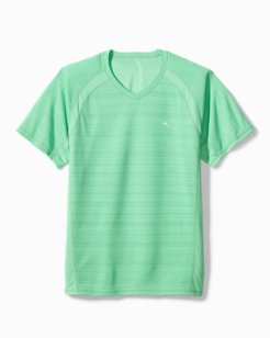 Palm Coast IslandZone® Flip Reversible V-Neck Shirt