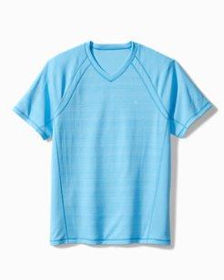Palm Coast IslandZone® Flip Reversible V-Neck Shirt