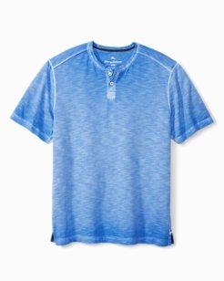 Suncoast Shores Short-Sleeve Henley Shirt