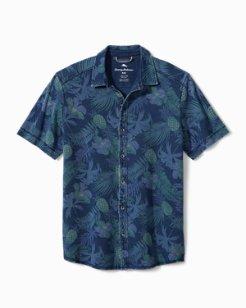 Midnight Coral Camp Shirt