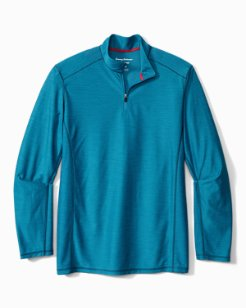 Details about  /NWT $110 Tommy Bahama Blue Isles Island Zone Half Zip Small