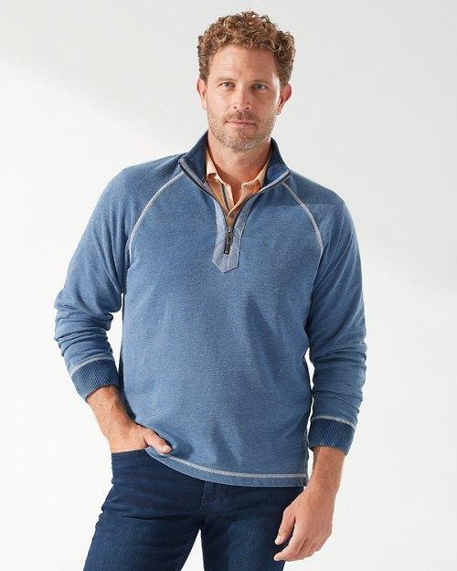 Indigo Springs Half-Zip Sweatshirt