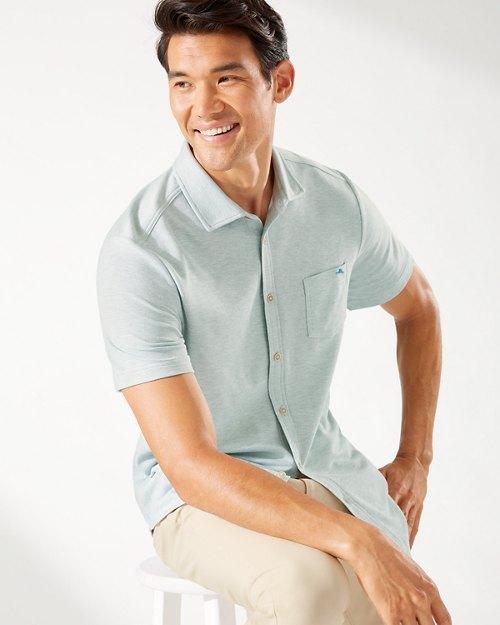 Emfielder IslandZone® Knit Camp Shirt