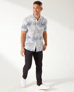 Sardinia Seas Knit Camp Shirt