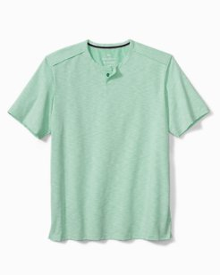 Fray Day Harbor Short-Sleeve Henley Shirt