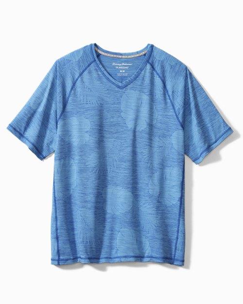 Delray Frond IslandZone® V-Neck T-Shirt