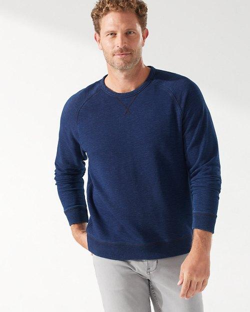 Indigo Ocean Crew Sweatshirt