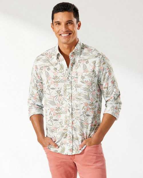 San Lucio Brisbane Botanica Stretch IslandZone® Shirt