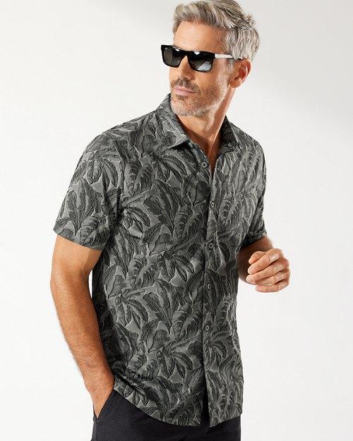 Palm Coast Jungle IslandZone® Knit Camp Shirt