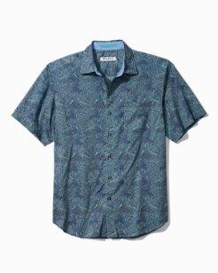 Hidden Jungle Stretch-Cotton Camp Shirt