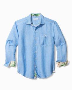 Line In The Sand Linen-Blend Shirt