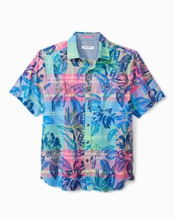 Madras In Paradise Camp Shirt