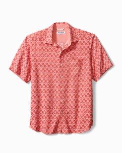 Palms Away Geo Camp Shirt