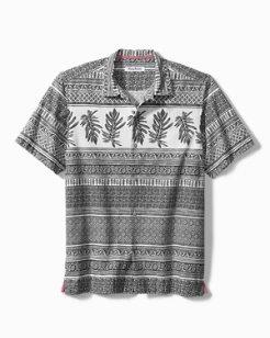 Botanical Border Camp Shirt