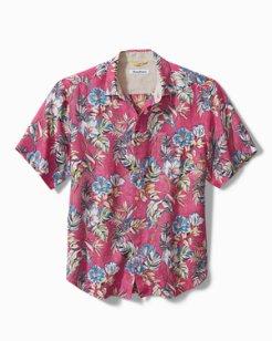 Faded Flora Camp Shirt